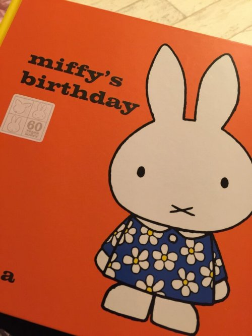 60th anniversary edition Miffy's birthday