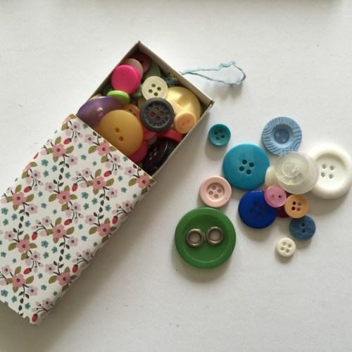 upcycled matchbox