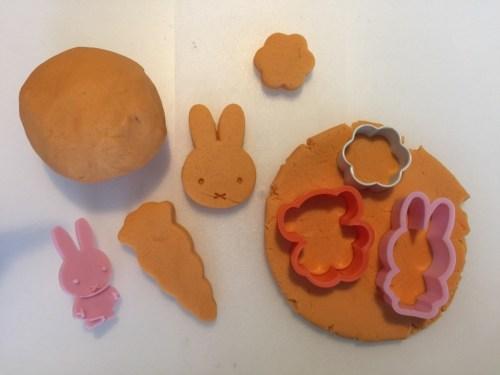 Miffy play dough