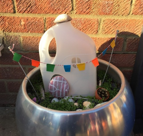 container pot fairy garden