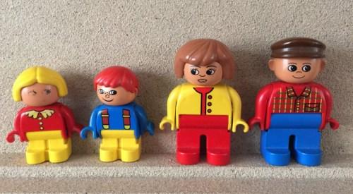 lego nuclear family