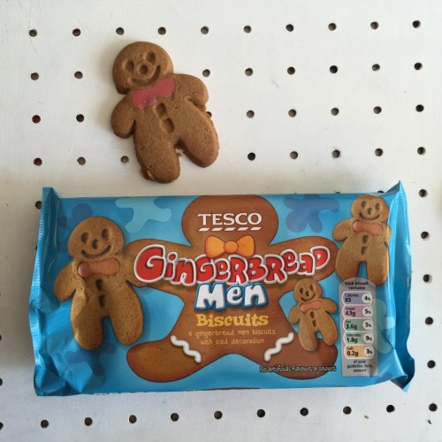 Tesco gingerbread men
