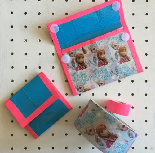 Disney FRozen Duck Tape wallet