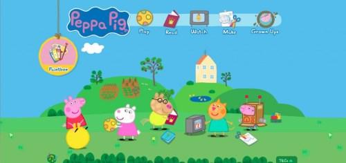 Peppa Pig website