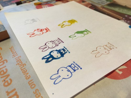 Miffy stamps