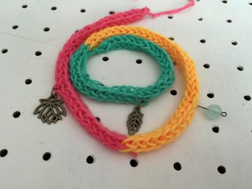 Mollie Makes crochet charms bracelet kit