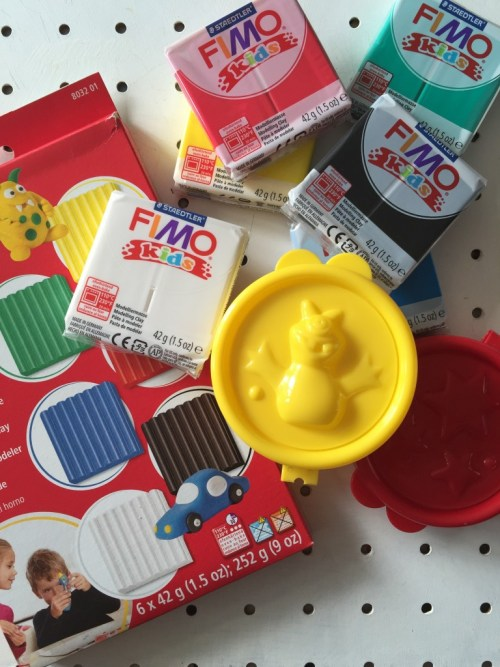 Make and create with FIMO kids moulds