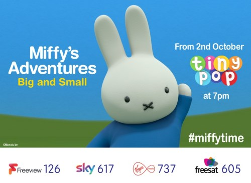 Miffy TV Comes to Tiny Pop!