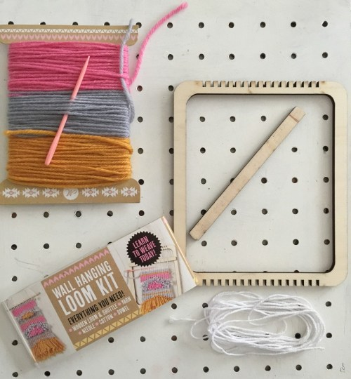 Mollie Makes wall hanging loom kit