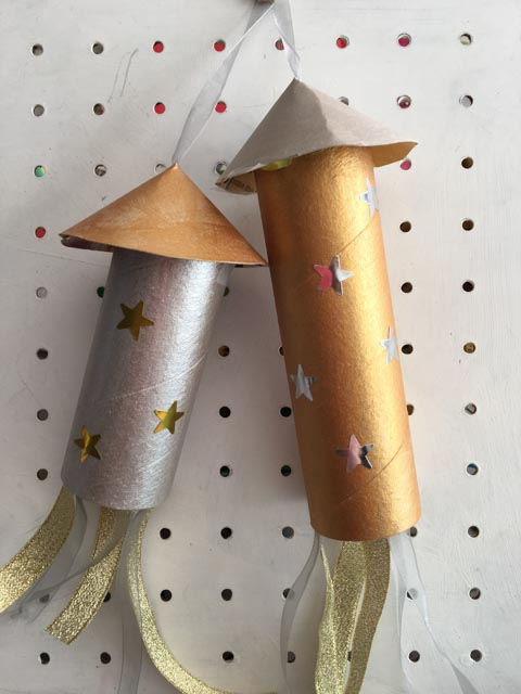 cardboard tube rockets