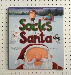 Socks for Santa book cover