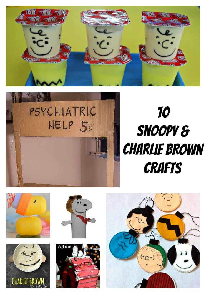 10 Snoopy and Charlie Brown crafts