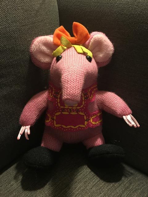 Clangers Squeeze and Whistle Plush