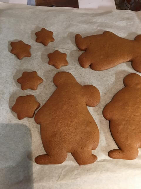 clangers gingerbread biscuits
