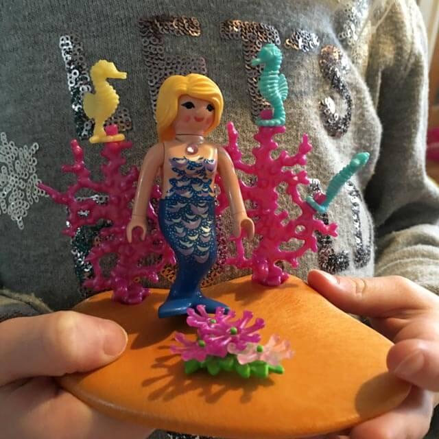 PLaymobil egg mermaid toy