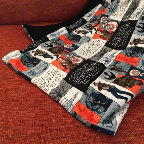 Star Wars minky blanket