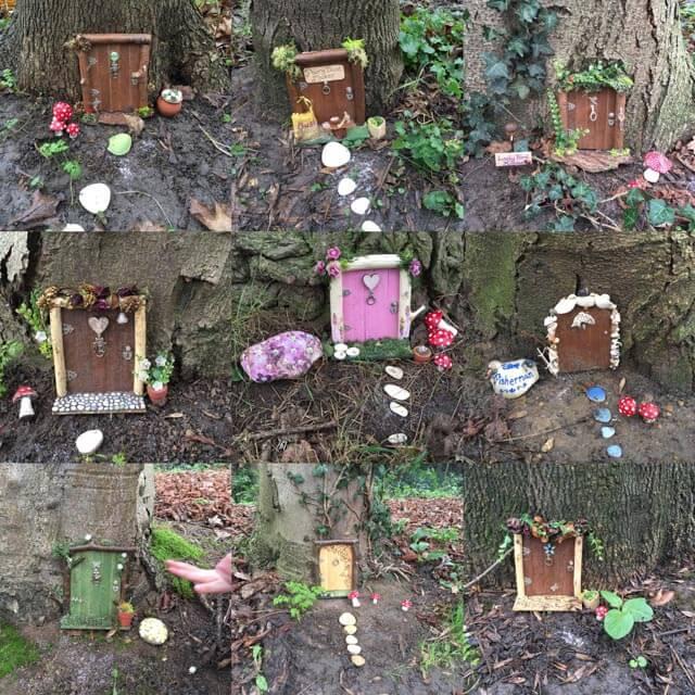 9 fairy houses