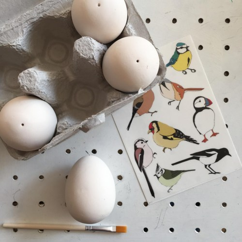How to tattoo Easter eggs