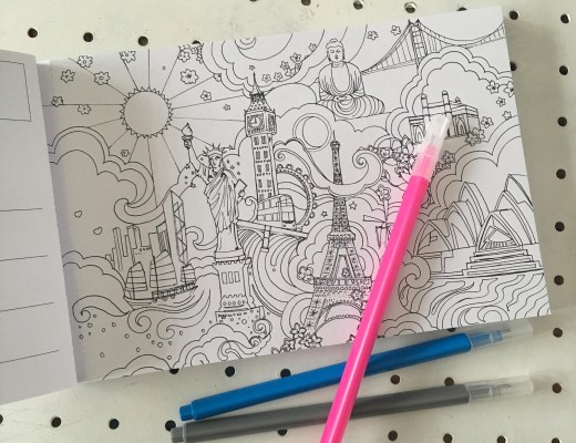 The One and Only elephant parade Colouring Book