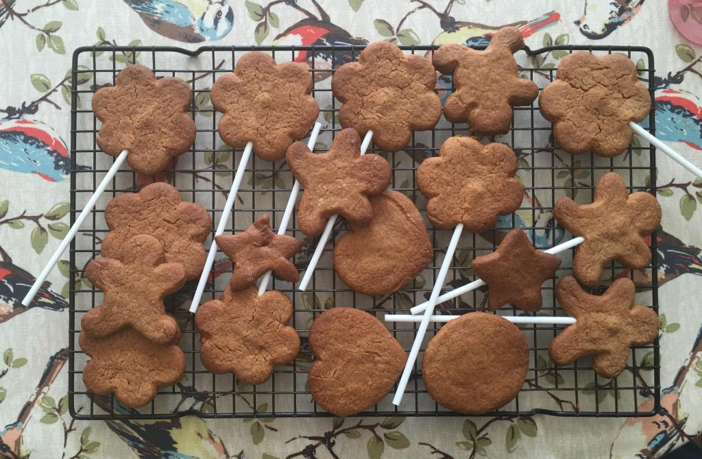 freshly baked gingerbread