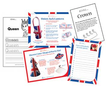 the Queen's 90th birthday activities for children
