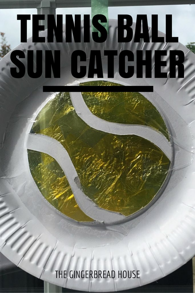 tennis ball sun catcher