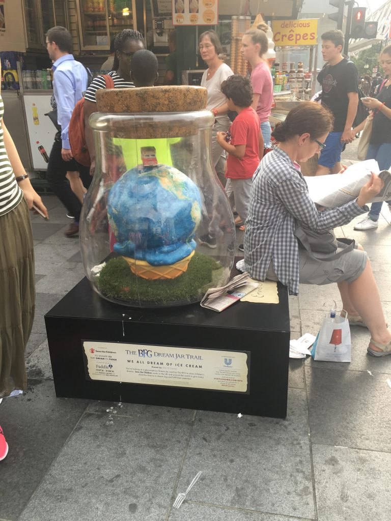 The BFG Dream Jar Trail Oxford Street
