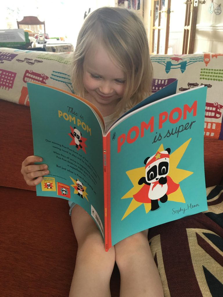 Pom Pom is Super by Sophy Henn
