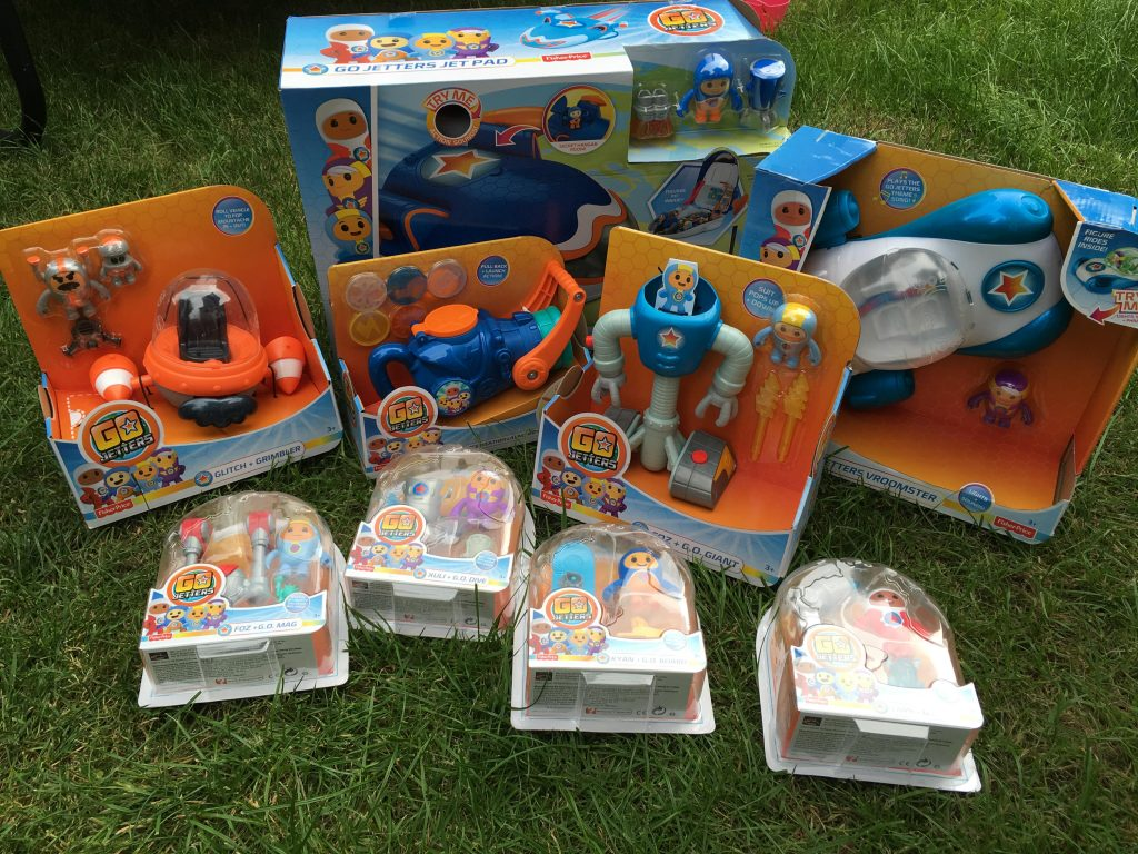 Go Jetters Twitter Party toys