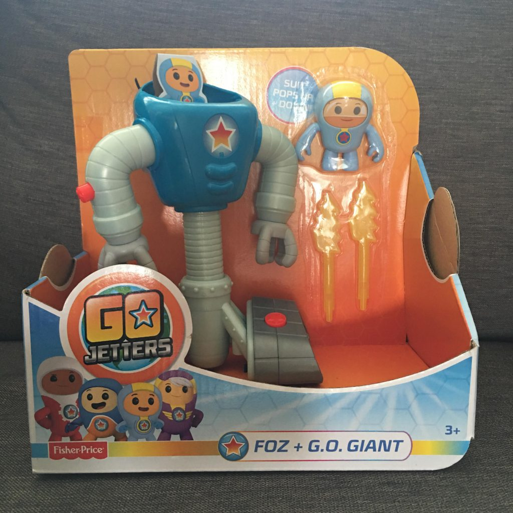 Go Jetters Foz and G.O. Giant toy