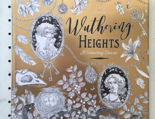 Emily Bronte's Wuthering Heights Colouring Classic