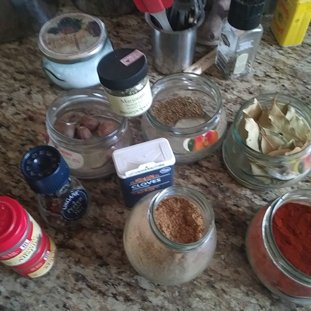 Pate Spice Mise En Place