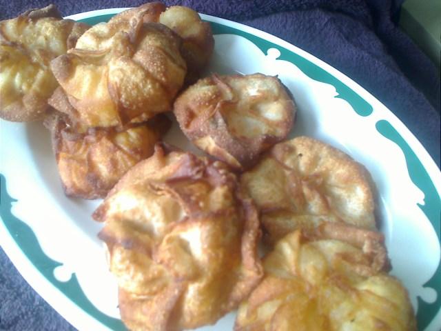 Rosemary Garlic Chicken Purses