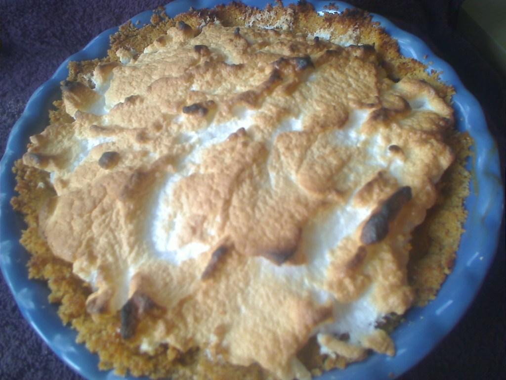 Dulce de Leche Lemon Meringue Pie