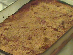 Manicotti Out of the Oven
