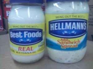 Best Foods and Hellmans Together