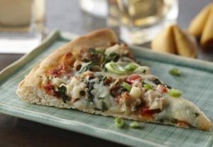 Wonton Style Pizza