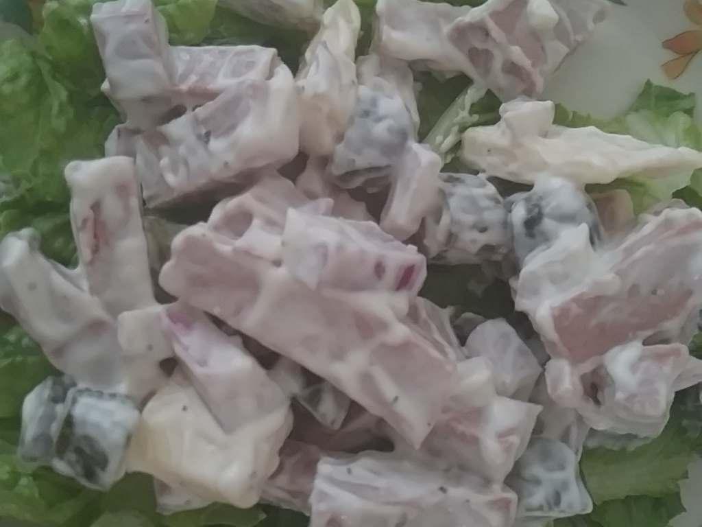 Hackfleisch Salat (Meat Salad)