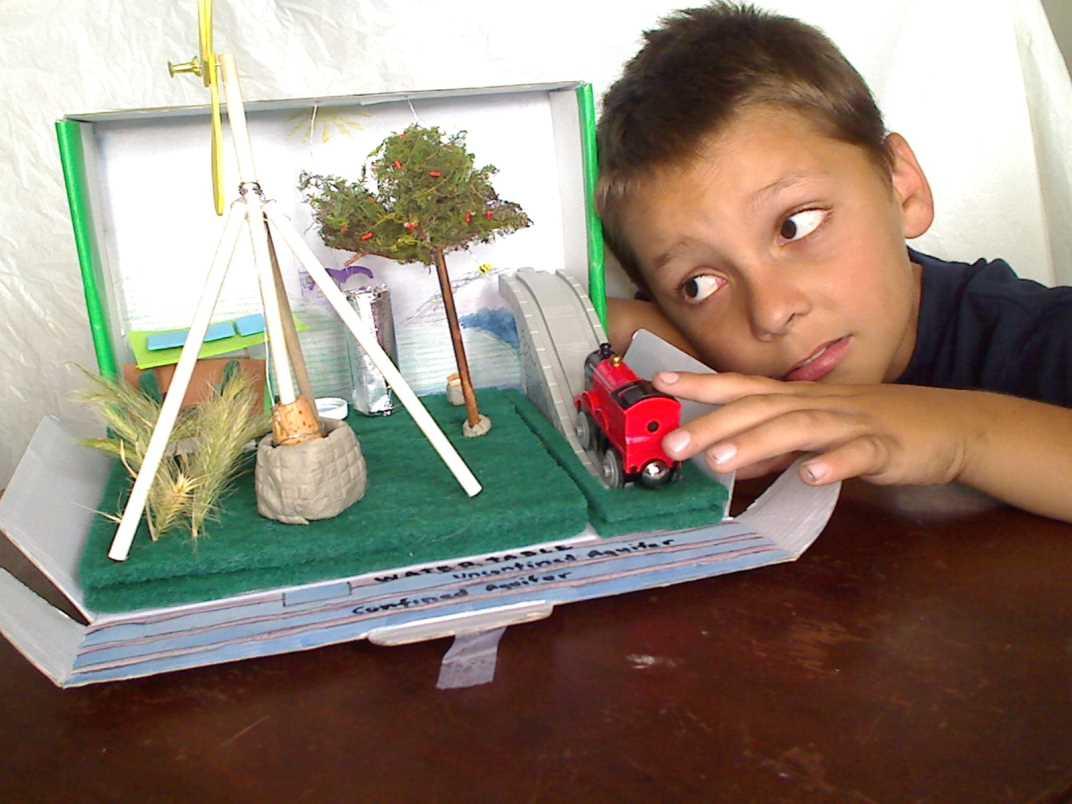 Kids Diorama With Details: Renewable Energy Diorama