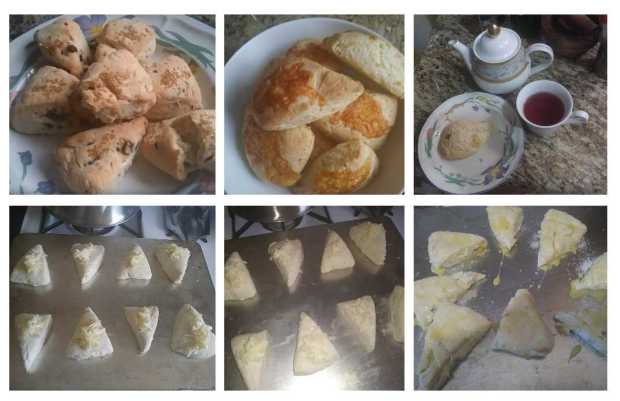 Quick Warm Scones for a Breakfast Treat