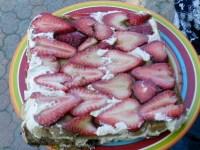 Strawberry Tiramisu