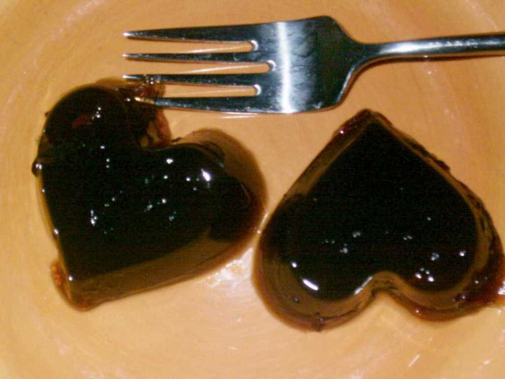 Sour Cherry Jellies for Valentines