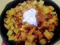Machaca Potatoes