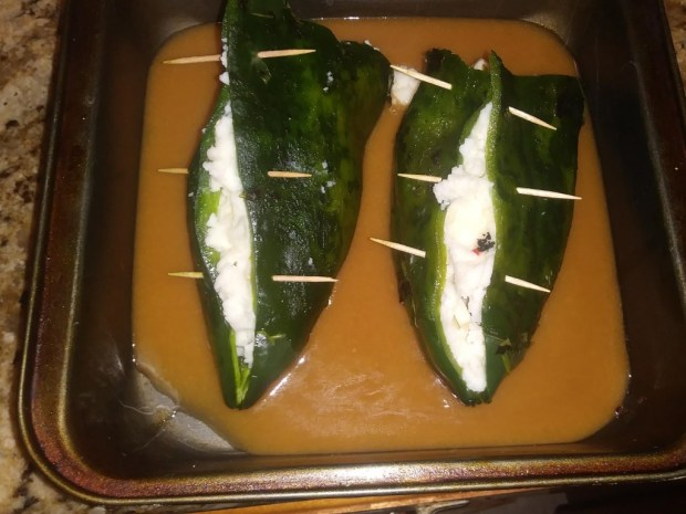 The Month of Mexican - Quick Chili Rellenos
