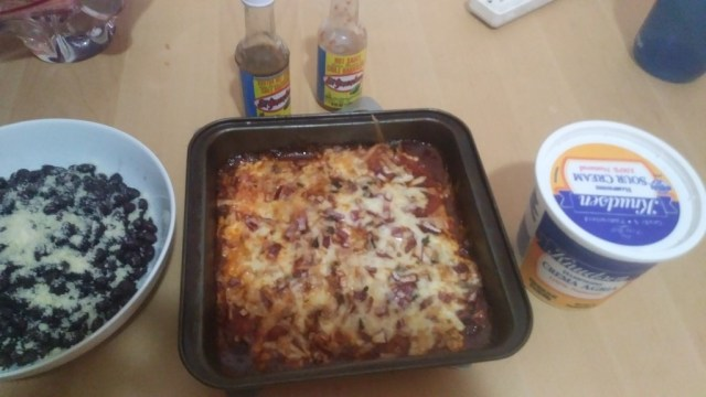The Month of Mexican - Fresh Tortilla Casserole