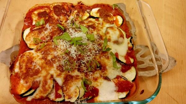 Easy Zucchini Casserole in the Air Fryer