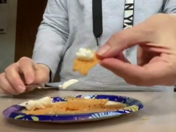 Crispy Cheese Crisps