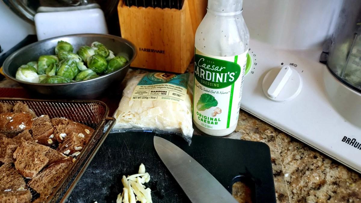 slice garlic