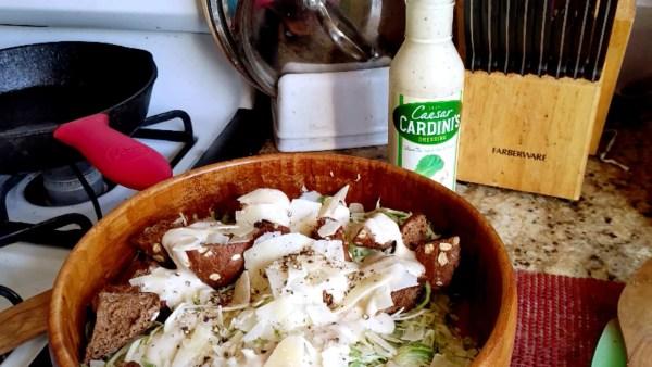Brussel Sprout Caesar Salad