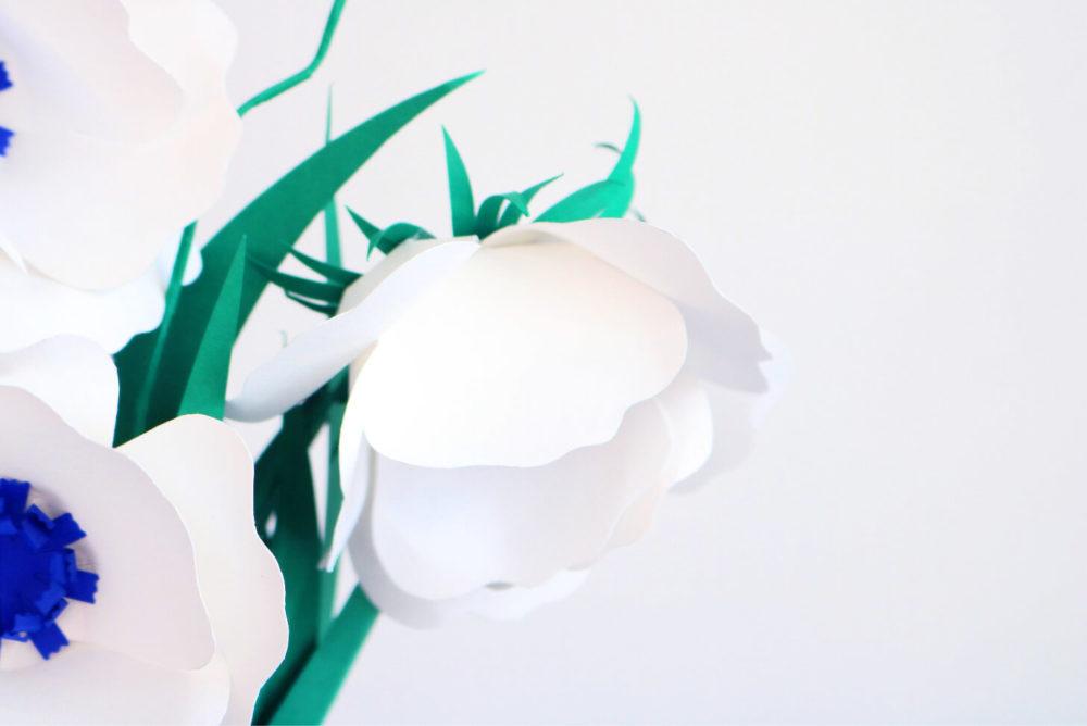 DIY Fleurs en papier